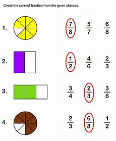 fraction worksheets level 1 4001 free printable fraction worksheets for grade1 math worksheets for