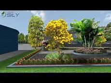 Desain Taman Pabrik Aqua Pandaan Pasuruan