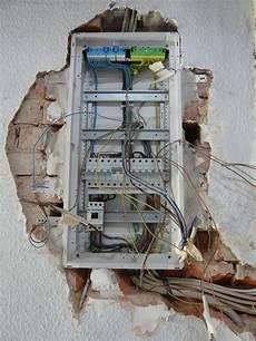 Hochwertige Baustoffe Verdrahtung Sicherungskasten