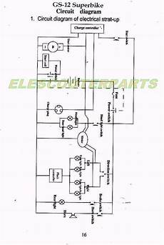 2 stroke scooter wiring diagram service schematics gas and electric scooters two cycle four cycle engine parts owners manuals
