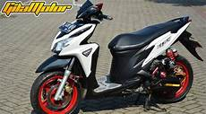 Skotlet Motor Vario 125 by Modifikasi Honda Vario 125 Fi 2012 Kombinasi Supercharger