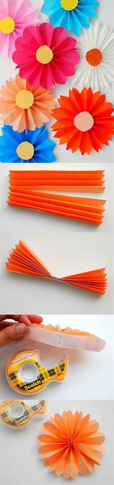 Papierblumen Basteln Anleitung - 20 creative paper flower diy projects for your home decoration