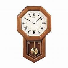 woodward pendulum wall clock light oak dutch country general store