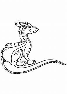 ausmalbilder junger drache 1 drachen malvorlagen