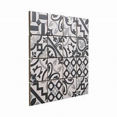 Mosa 239 Que Carreaux De Ciment Blanc Noir 7 X 7 Cm