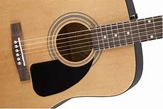 Fender Fa 100 Acoustic Guitar W Gig Bag Ebay