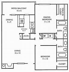 2br house plans 16 2br 2ba house plans in 2020