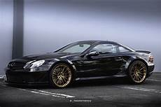 mercedes sl65 amg black series gets new set of rims
