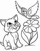 10 Cute Animals Coloring Pages >> Disney