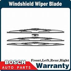 how make cars 2001 acura mdx windshield wipe control bosch 3 pcs front rear windshield wiper blade for 2001 2006 acura mdx ebay