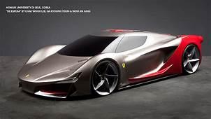 Top 12 Des Projets De Design Pour La Ferrari Du Futur