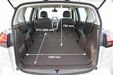 zafira b kofferraumvolumen adac auto test opel zafira tourer 1 6 cng ecoflex edition