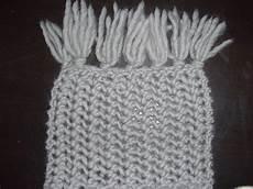 comment tricoter grosse echarpe