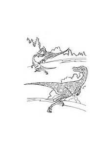Ausmalbilder Dinosaurier Fleischfresser Ausmalbild Velociraptor Dromaeosauridae Theropoden