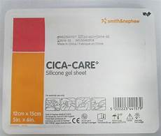 smith nephew cica care silicone gel scar sheet 4 3 4 quot 6