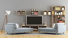 think a room with a big tv can t be beautiful think again