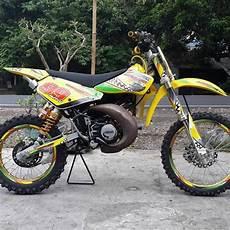 Modifikasi Motor Trail Bebek by 10 Gambar Modifikasi Motor Trail Gestrek Bebek Modif Fizr