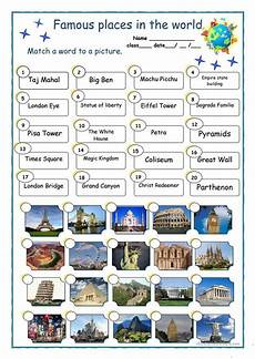 places in the world worksheet free esl printable worksheets made by teachers