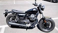 Moto Guzzi V9 - moto guzzi v9 bobber start up and sound