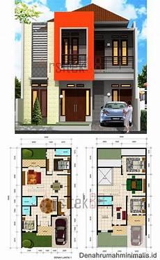 Denah Rumah 2 Lantai Minimalis Renovasi Rumah Net