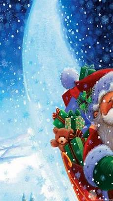 free merry christmas santa claus hd wallpapers for ipad desktop background