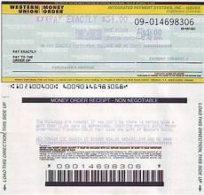 picture western union money order blank money order in 2020 money order how to get money