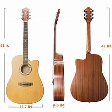 beginner acoustic guitars ranch acoustic guitar cutaway for starter beginner