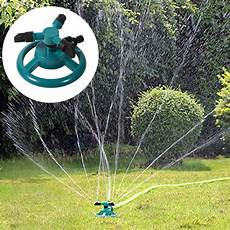 garden watering systems 360 degree automatic rotating