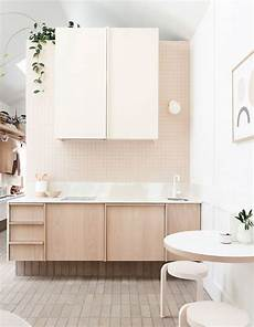 a tonal tiny north melbourne cottage home kitchen and dining interior design kitchen