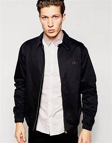 lyst fred perry harrington jacket with contrast