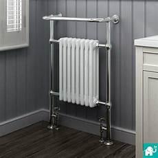 Bathroom Towel Rails by Heated Traditional Radiator Cast Iron Chrome Towel Rail