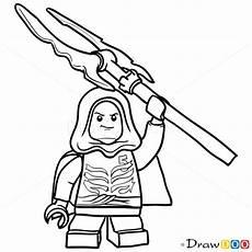 how to draw lloyd garmadon lego ninjago
