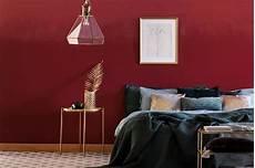 Wandfarben In Bordeaux Weinrot Kolorat Haus Deko