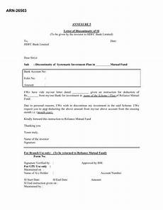 sip cancellation form for hdfc mutual fund sip cancellation form for hdfc bank investmentkit