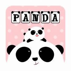 Gambar Panda Pink Lucu Wallpaper Ilham Gambar