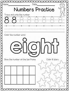 numbers practice freebie numbers preschool preschool number practice week of school ideas