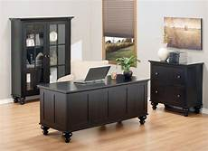 home offices furniture dark brown wood desk collection eco friendly home office