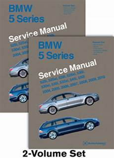 car repair manuals online free 2005 bmw 525 electronic toll collection 2004 2010 bmw 5 series factory bentley service repair manual 2 vol set