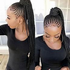 23 renewed goddess braids ponytail hairstyles