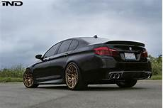 black sapphire metallic bmw m5 gets some beautiful aftermarket upgrades
