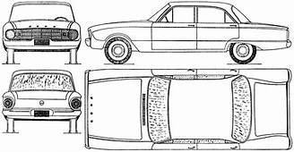 Ford Falcon 1960 Blueprint  Download Free For