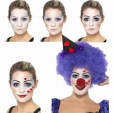 clown frau schminken deko schminkset clown