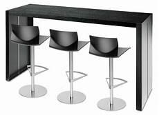 table haute 110 cm table haute panco lapalma noir made in design