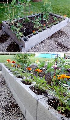 raised garden bed from cinder blocks click pic for 20