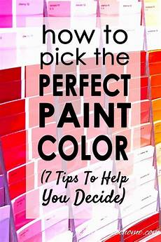 how to choose the right paint color 7 steps to help you decide