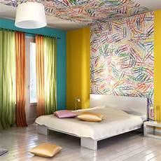 papier peint 4 murs chambre 77423 adoptez le papier peint en t 234 te de lit pour une d 233 co