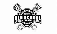 Garage Logo Vector by School Custom Classic Garage Logo Design Contest