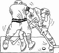 Gratis Malvorlagen Eishockey Eishockey Zweikf Ausmalbild Malvorlage Sport