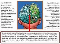 Otak Kanan Fungsinya Apa Vs Jawab
