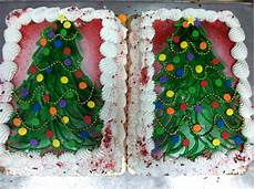 christmas sheet cake tree jb bakery